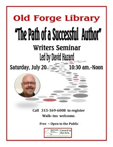 """""""The Path of a Successful Author"""" Writer's Seminar"""