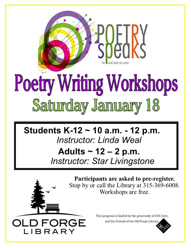Student Poetry Writing Workshops