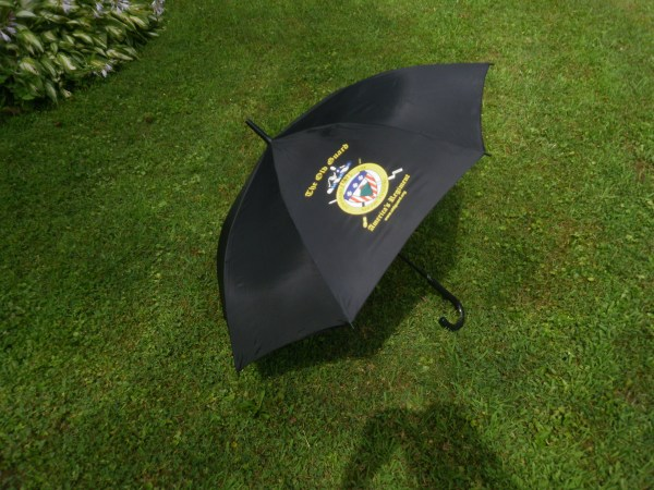 Umbrella with Regiment Coat of Arms