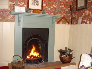 renovated victorian fireplace