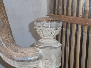 bannister post in 18th century post