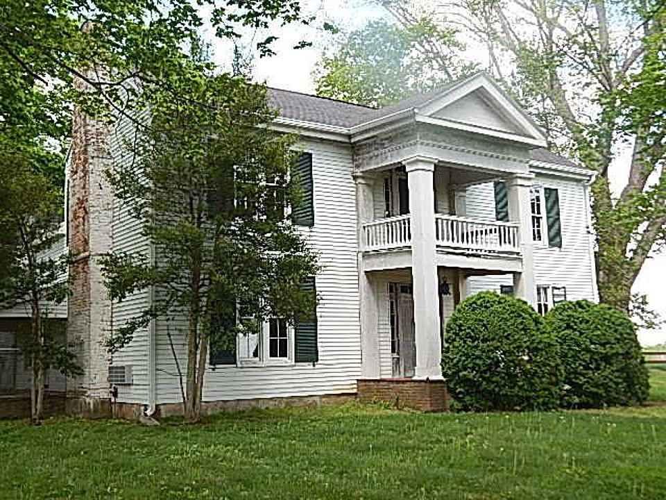 1860 Greek Revival Hopkinsville KY Old House Dreams