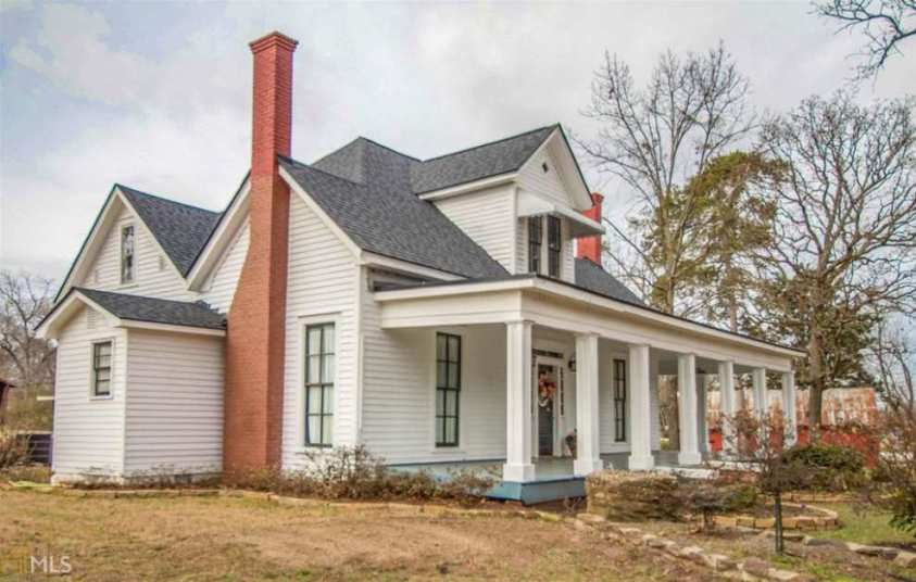 1900 victorian farmhouse for sale in royston georgia for Old farm houses for sale in georgia