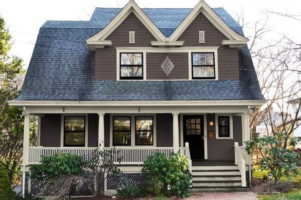 Exterior Paint Colors   Consulting for Old Houses   Sample Colors New exterior paint colors and gable vents