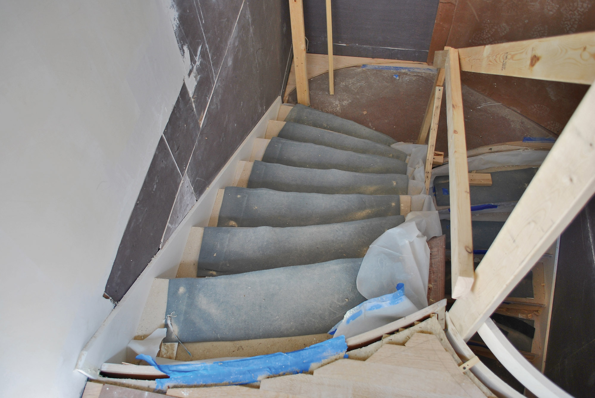 Repairs To Stairs Old House Journal Magazine | 2X4 Railing For Stairs | Solid Wood | 6 Foot | Stairway | Temporary | Natural Hardwood
