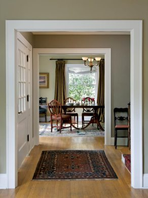 Choosing Paint Colors for a Colonial Revival Home   Restoration     The house has an old fashioned elegance  with great proportions and plenty  of light