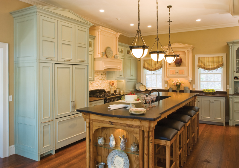 Elegant Neoclassical Kitchen Old House Journal Magazine