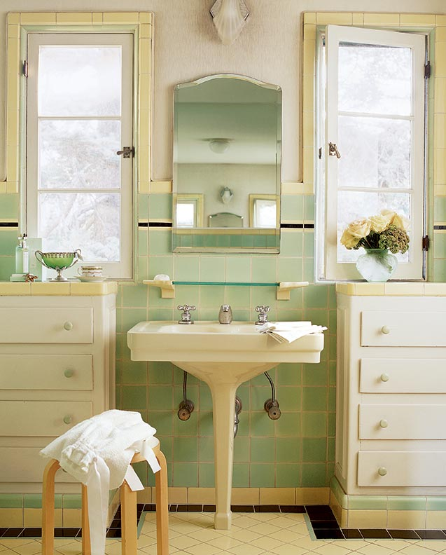 Solutions For Small Bathrooms Old House Journal Magazine