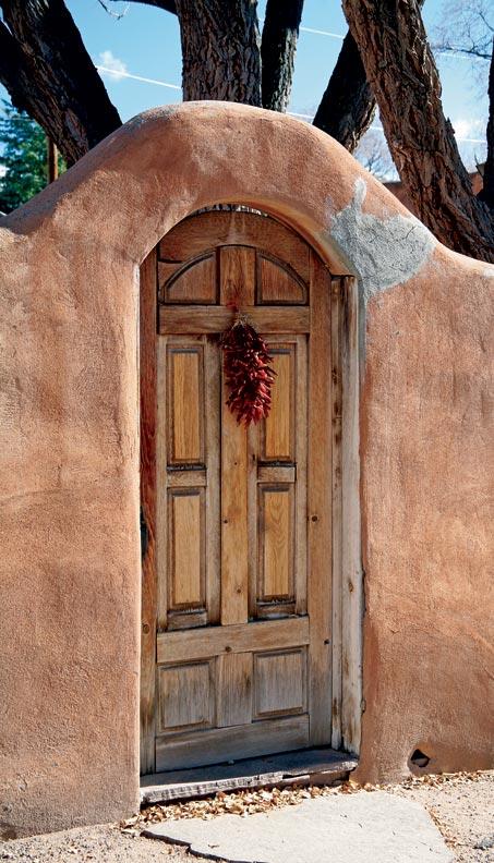 Adobe Greek Home - santa-fe-style-adobe-door_Cool Adobe Greek Home - santa-fe-style-adobe-door  Best Photo Reference_22122.jpg