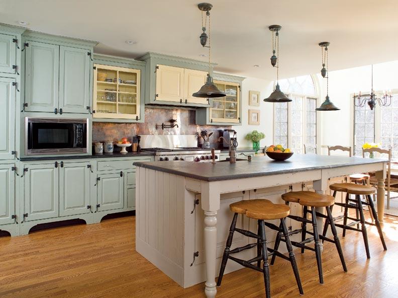 Traditional Trades Period Kitchen Cabinets Restoration