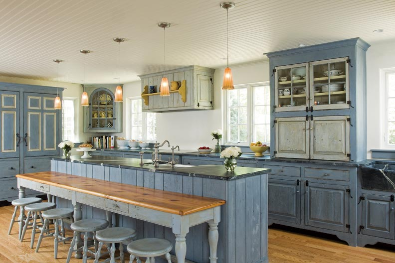 Best Kitchen Gallery: Traditional Trades Period Kitchen Cabi S Old House of Period Kitchen Cabinets on cal-ite.com