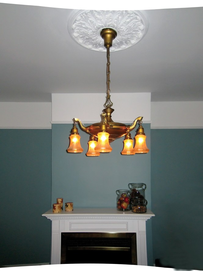 Lighting Fixture Old House