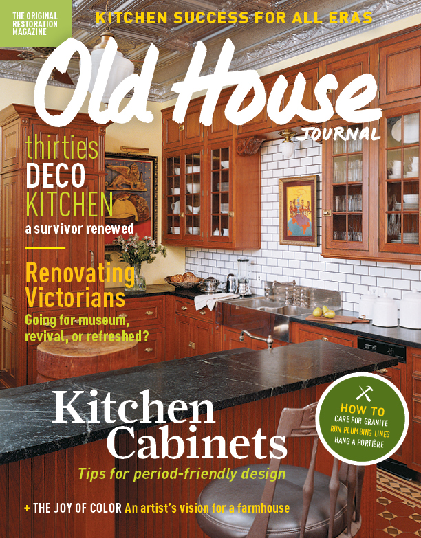 About Old House Journal And New Old House Magazines