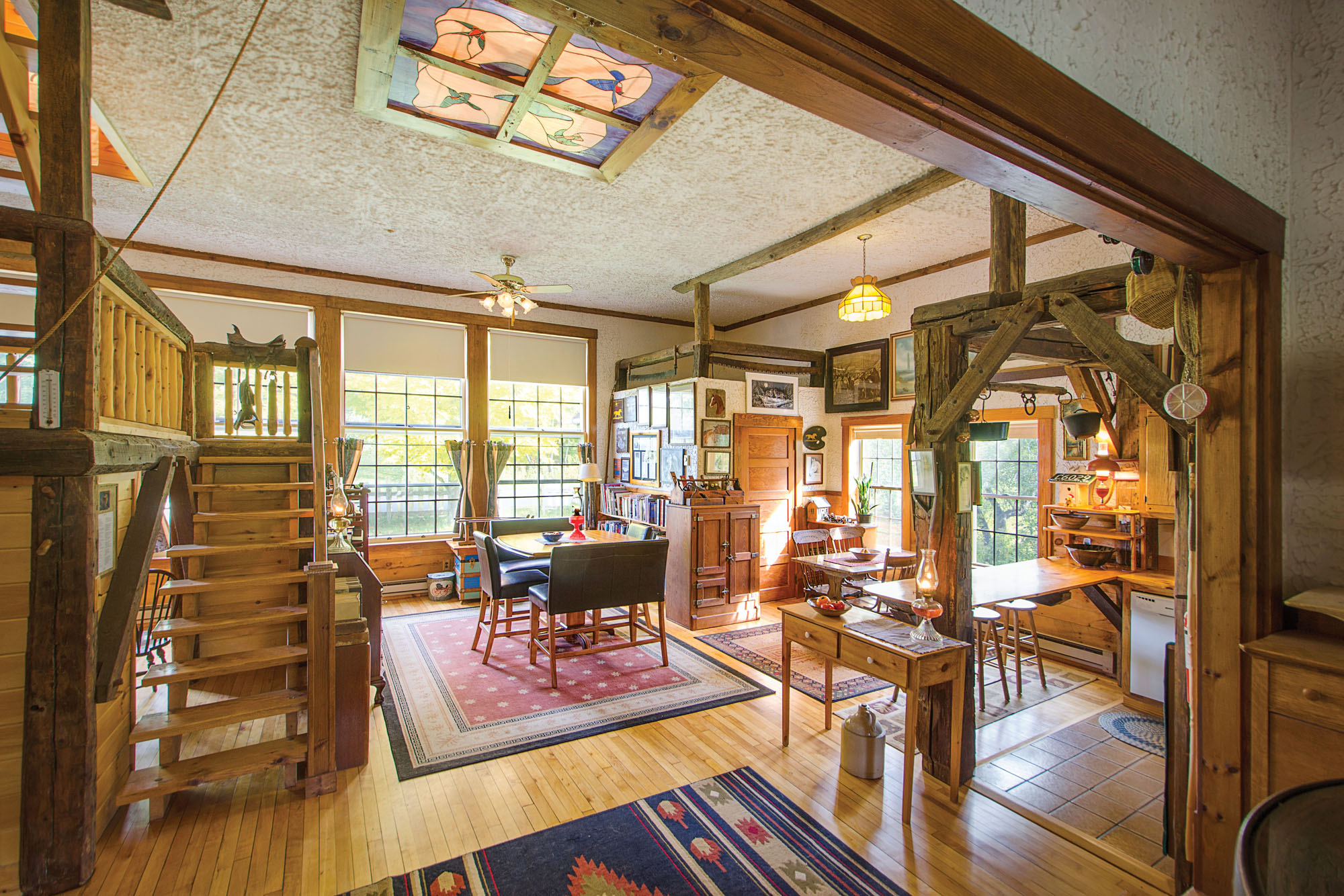 An Old Schoolhouse Converted Into A Home Old House