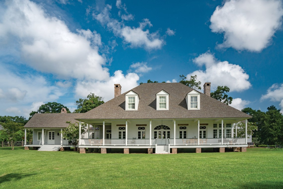 A Traditional Farmhouse in Louisiana - Old House Journal ...
