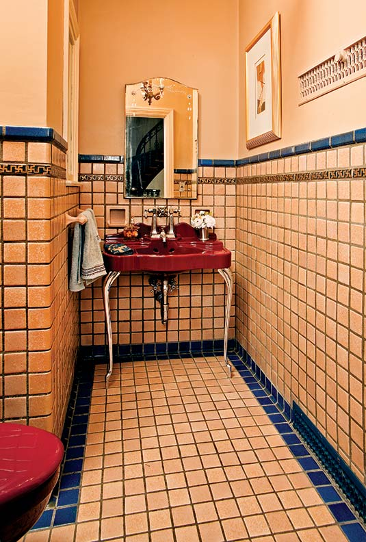 guide to 20th century bathroom tile