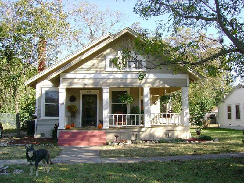 1917 Craftsman Bungalow In Temple Texas