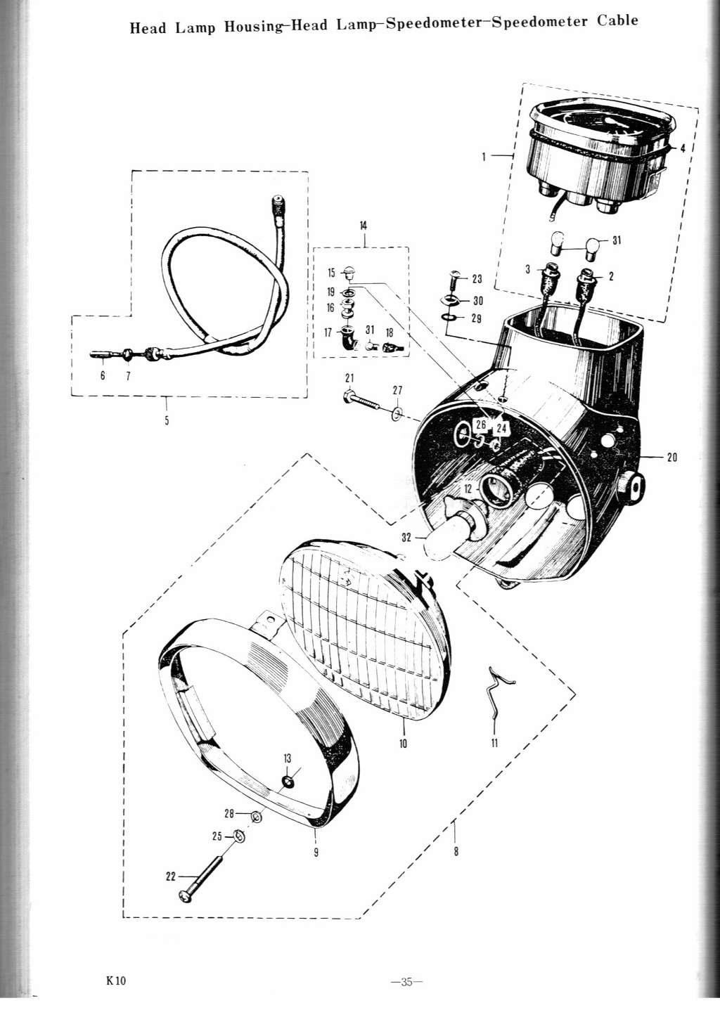 K10p K11p Parts Manual