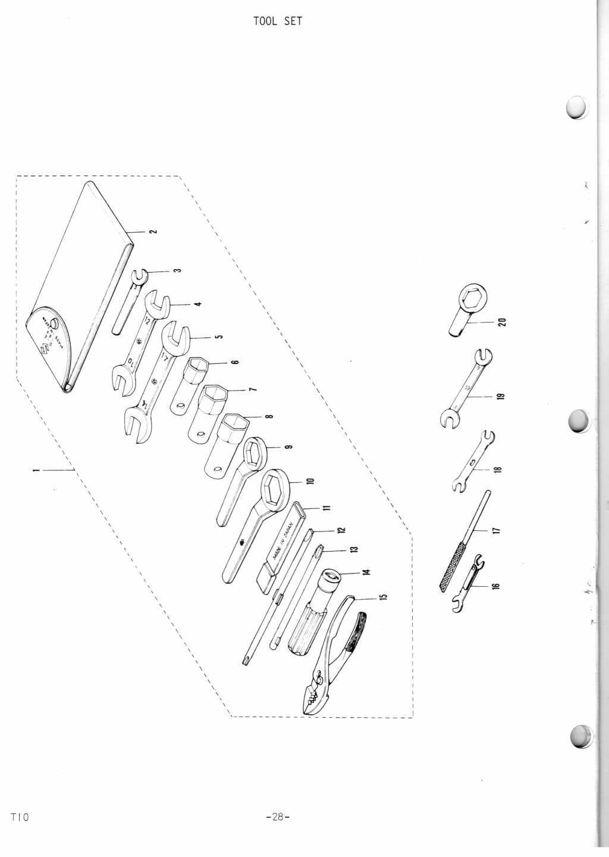 T10 Parts Manual