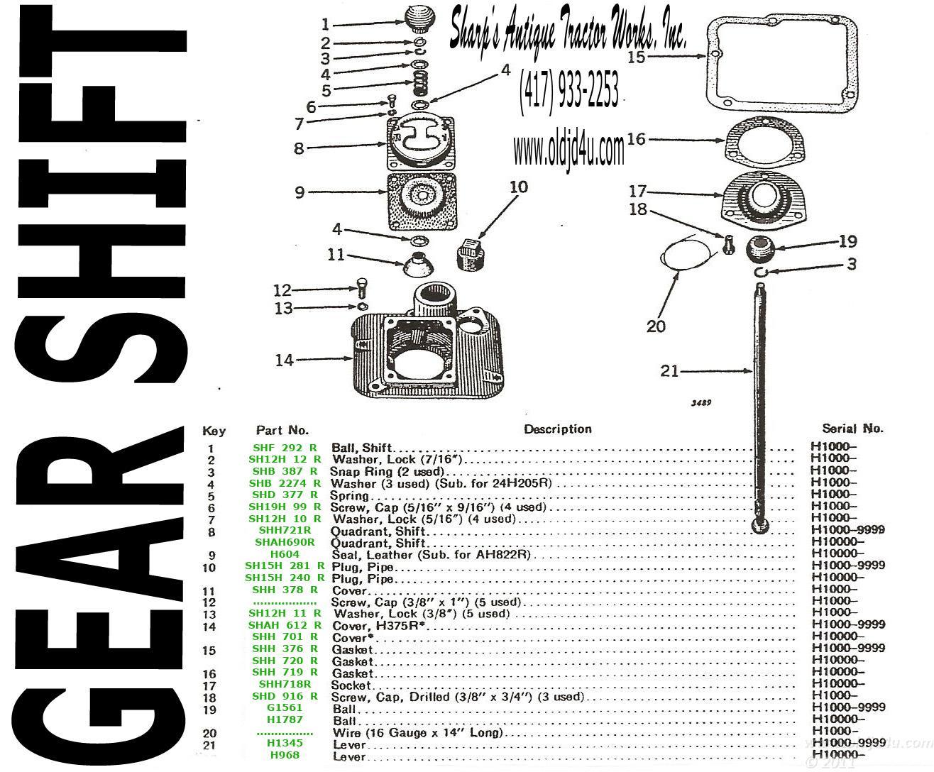 John Deere H Wiring Diagram