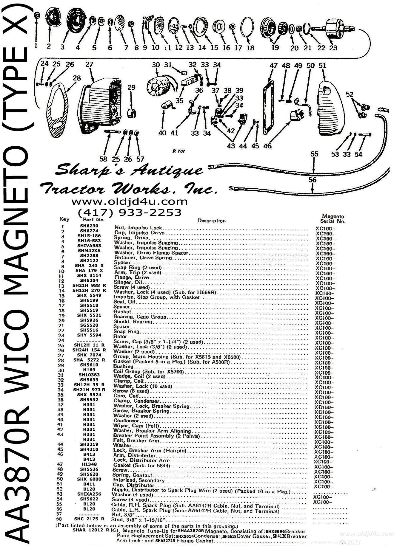 Wrg Wico Magneto Wiring Schematic