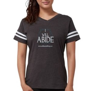 Women's abide football shirt