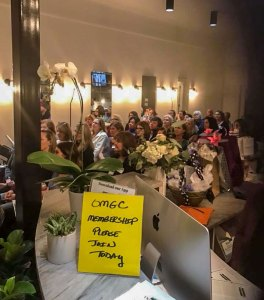 First Public Meeting The Crowd | Old Metairie Garden Club