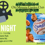 April 2019 Movie Night | Old Metairie Garden Club
