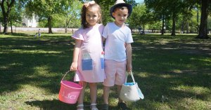 Old Metairie Garden Club Easter Egg Hunt 2019
