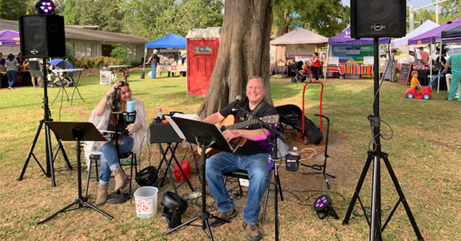 Farmers Arts Metairie Market Live Music } Old Metairie Garden Club