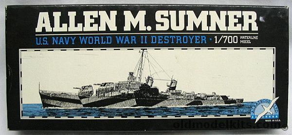 Albatross 1 700 Uss Allen M Sumner Destroyer 1001