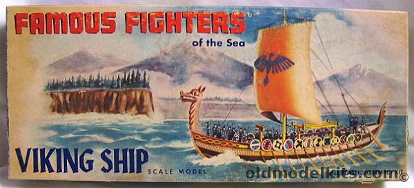 Aurora 180 Viking Ship Famous Fighters Of The Sea 320