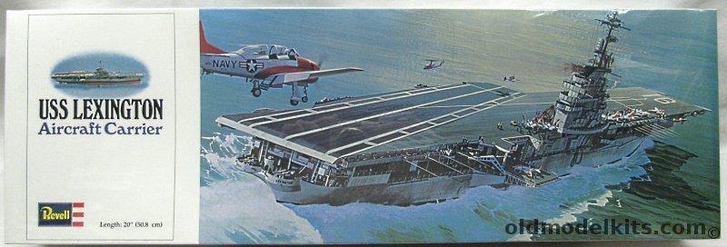 Revell 1500 USS Lexington CVT 16 Aircraft Carrier