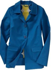 Women: Women's Button-Front Raincoats - Bay Of Bengal