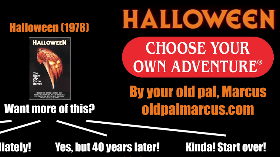 Halloween Movies Choose Your Own Adventure