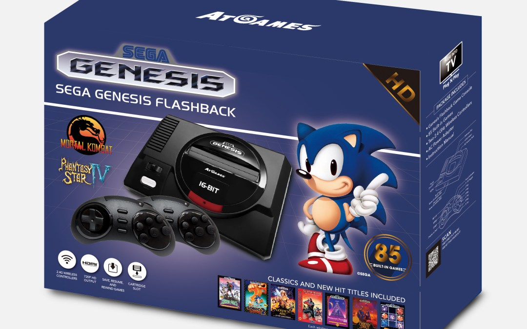 AtGames® Announces Fall 2017 Sega Genesis Classic Gaming Hardware Lineup