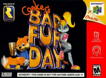 Downright Bizarre: Conker's Bad Fur Day – Not Your Everyday Family Game.