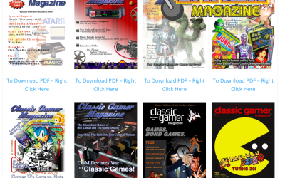 Old School Gamer Magazine | Dedicated to you   the old