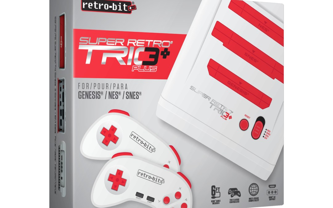 SR3® Plus from Retro Bit Coming Soon!
