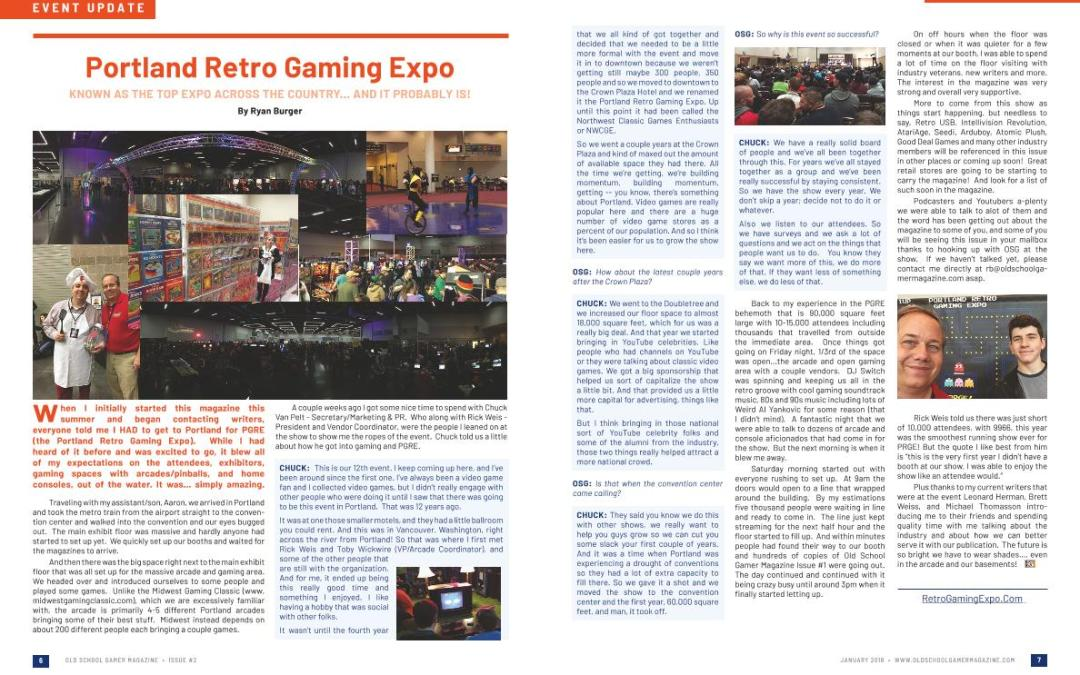 Portland Retro Gaming Expo – By Ryan Burger