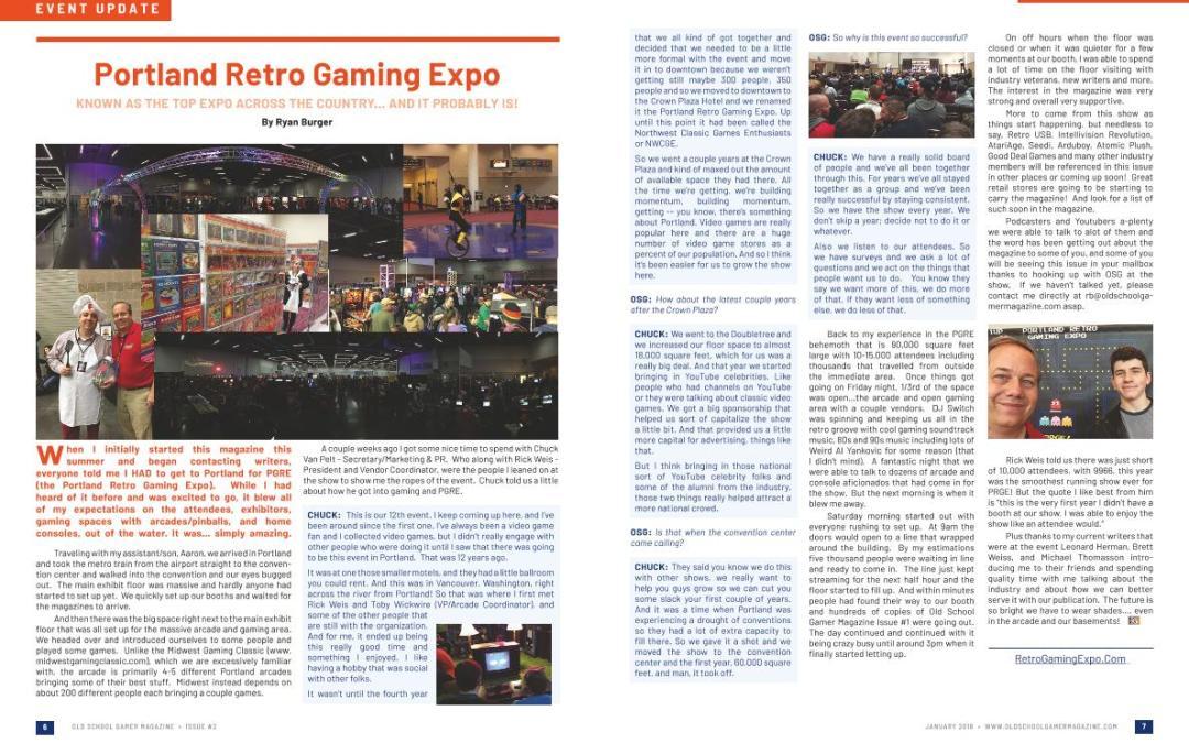 Portland Retro Gaming Expo – By Ryan Burger