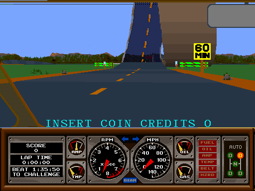Keep Calm and Insert Coin: Doin' Some Hard Drivin'
