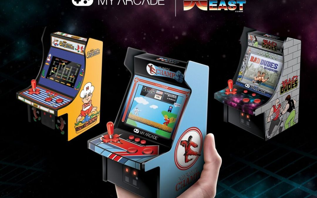 Data East Classics BurgerTime, Bad Dudes, and Karate Champ are Now Available in Mini Arcade Form