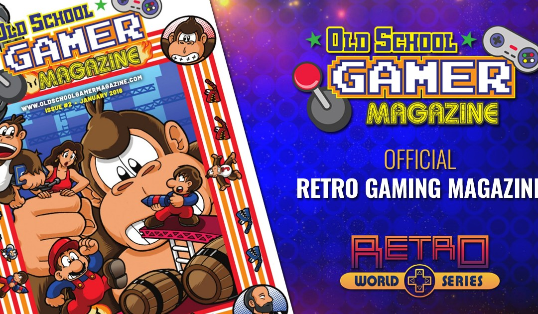Old School Gamer is now the official Retro Gaming Magazine for the Retro World Series