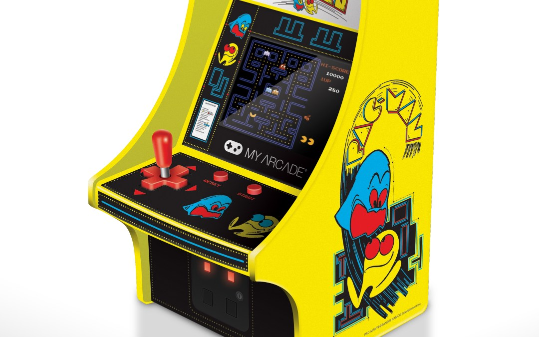 PAC-MAN™, Galaga™, and Dig Dug™ Headline New Wave of Table-Top Mini Arcades and Portable Handhelds