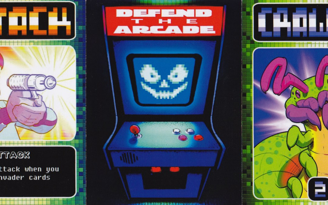Defend the Arcade – With Playing Cards!