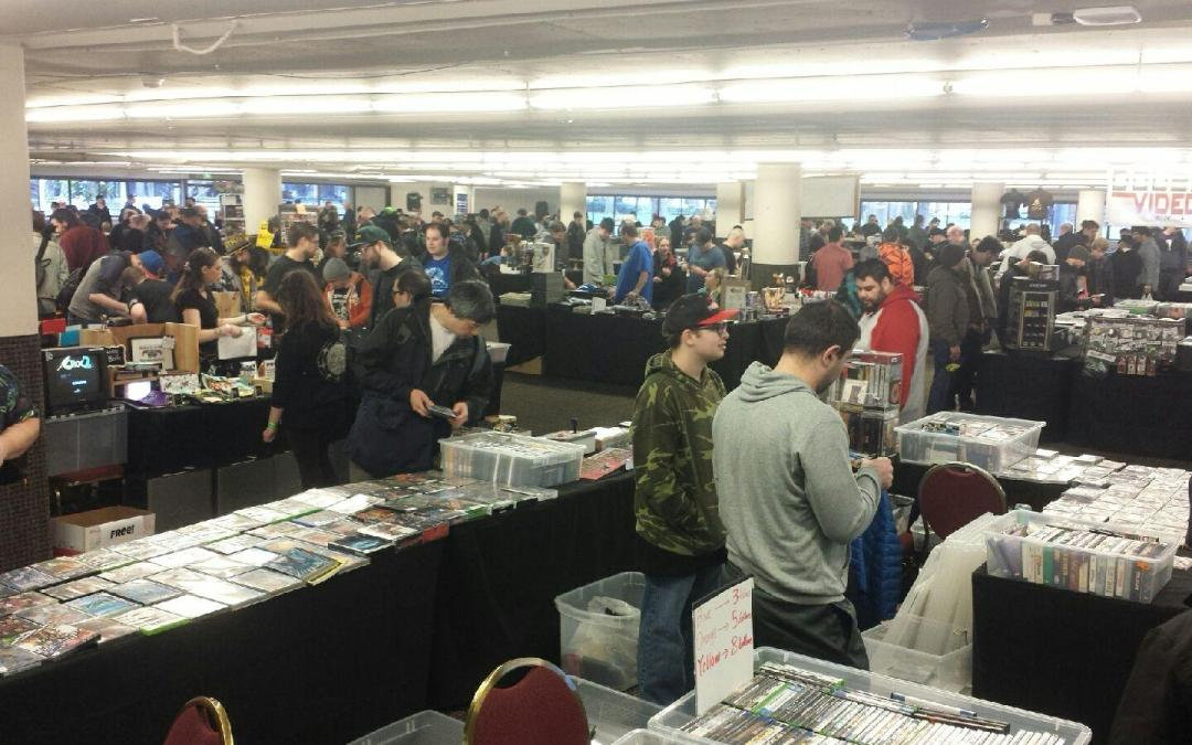 The Fourth Annual Northwest Classic Gaming Enthusiasts Swap Meet