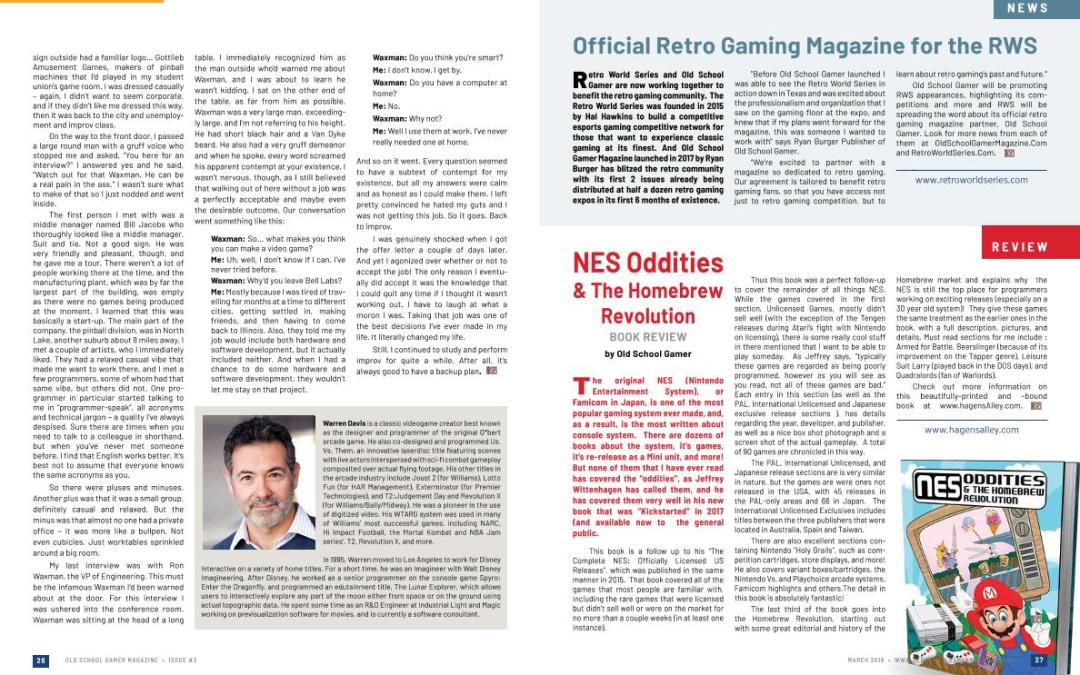 NES Oddities & The Homebrew Revolution Book Review – Old School Gamer