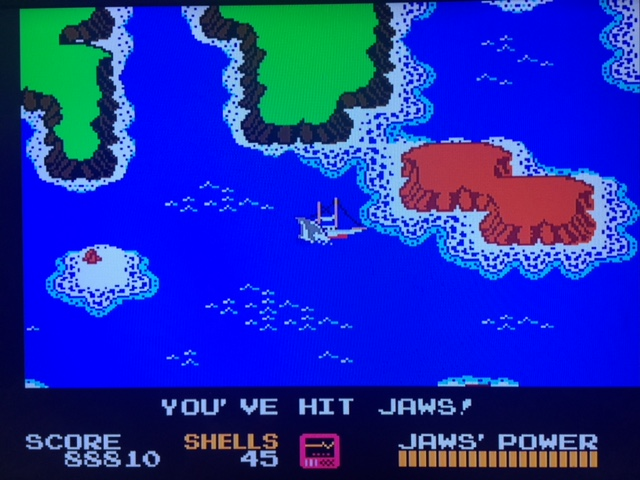Jaws for the NES