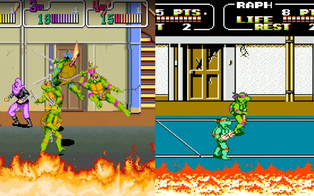 Versus Mode: Teenage Mutant Ninja Turtles II: The Arcade Game vs. the Teenage Mutant Ninja Turtles Arcade Game